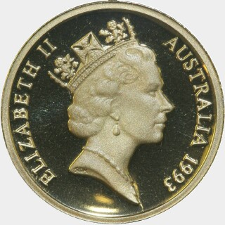 1993 Proof Two Dollar obverse