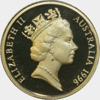 1996 Proof Two Dollar obverse