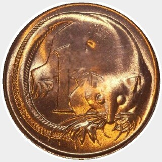 1979  One Cent reverse