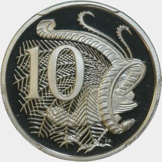2013 Proof Ten Cent reverse