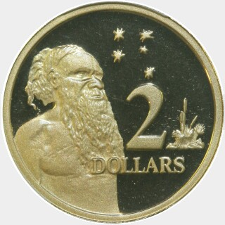 2004 Proof Two Dollar reverse