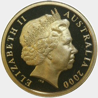 2000 Proof Two Dollar obverse