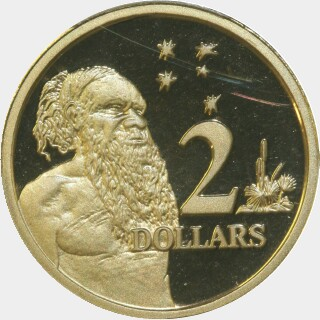 1998 Proof Two Dollar reverse