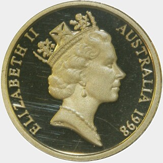 1998 Proof Two Dollar obverse