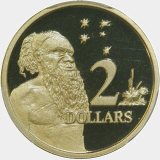 1999 Proof Two Dollar reverse
