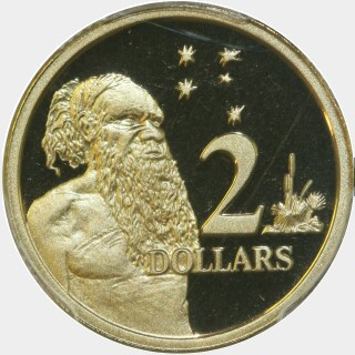1997 Proof Two Dollar reverse