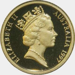 1997 Proof Two Dollar obverse