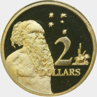 2012 Proof Two Dollar reverse