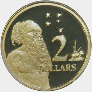 2003 Proof Two Dollar reverse