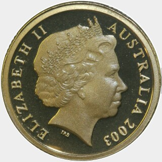 2003 Proof Two Dollar obverse