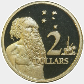 2002 Proof Two Dollar reverse