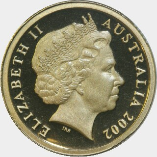 2002 Proof Two Dollar obverse