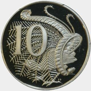 2012 Proof Ten Cent reverse