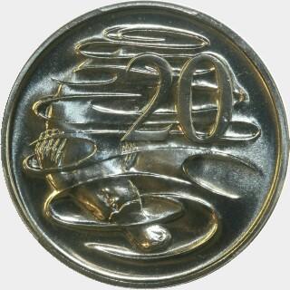 1990  Twenty Cent reverse