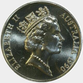 1990  Twenty Cent obverse
