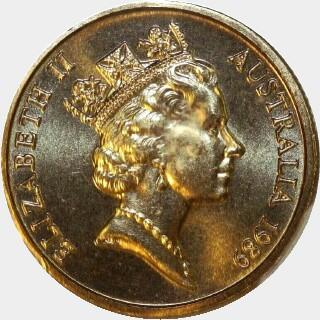 1989  One Dollar obverse