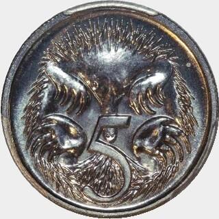 1999  Five Cent reverse