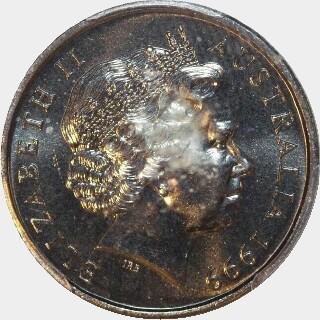 1999  Five Cent obverse