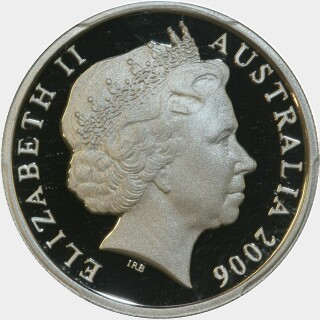 2006 Proof Ten Cent obverse