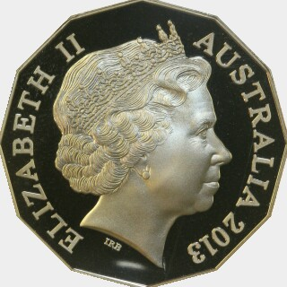 2013 Proof Fifty Cent obverse