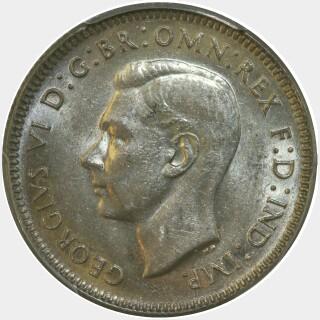 1946  Shilling obverse