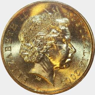 2005-B  One Dollar obverse