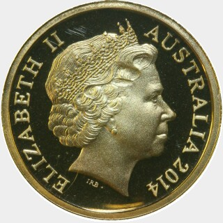 2014 Proof Two Dollar obverse