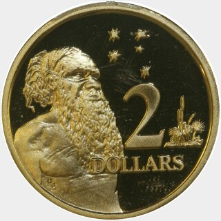 1988 Proof Two Dollar reverse