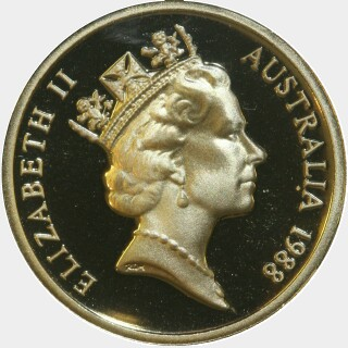 1988 Proof Two Dollar obverse