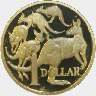 2006 Proof One Dollar reverse