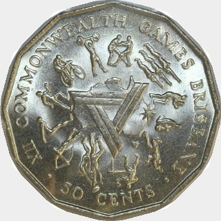 1982  Fifty Cent reverse