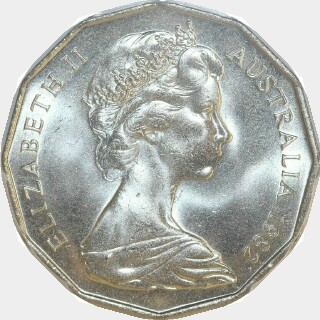 1982  Fifty Cent obverse
