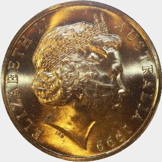 1999-C  One Dollar obverse
