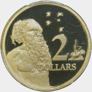 2001 Proof Two Dollar reverse