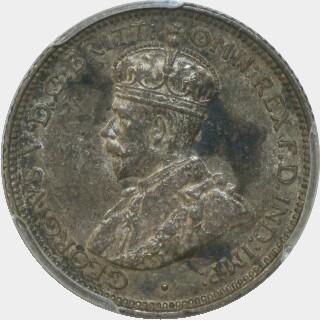 1920-M  Sixpence obverse