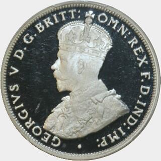 2000 Silver Proof Twenty Cent reverse