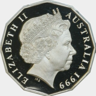 1999 Proof Fifty Cent obverse