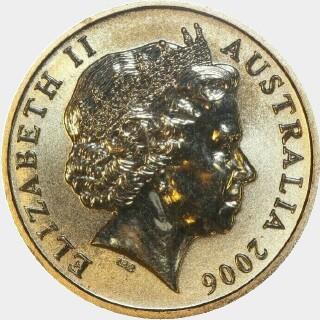 2006  One Dollar obverse