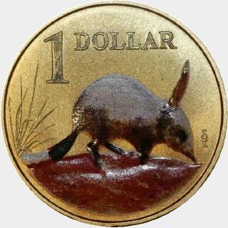 2009  One Dollar reverse