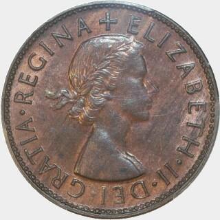 1953  Penny obverse