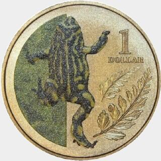 2012  One Dollar reverse