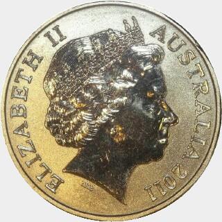 2011  One Dollar obverse