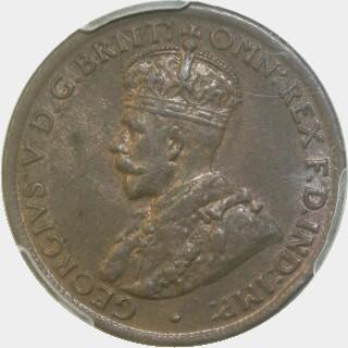 1922  Half Penny obverse