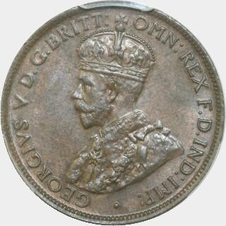 1926  Half Penny obverse