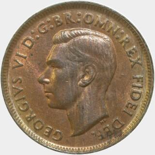 1951  Half Penny obverse