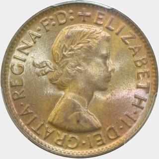 1960-Y  Penny obverse