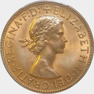 1960-Y Proof Penny obverse