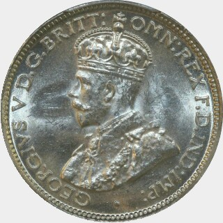 1935  Sixpence obverse