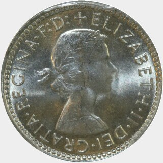 1963  Sixpence obverse