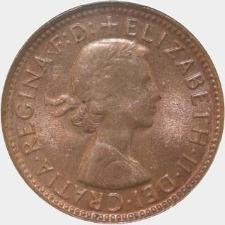 1960-Y  Half Penny obverse